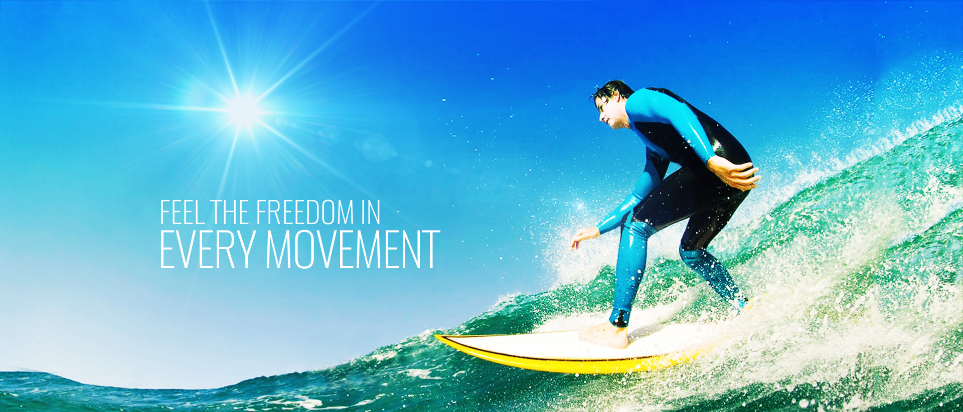 IN MOVEMENT-FEEL FREEDOM
